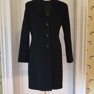 Calvin Klein Angora & Wool Coat